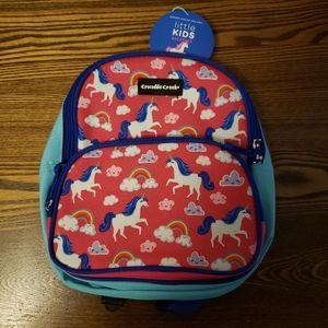 Crocodile Creek Rainbow Unicorn Kids Backpack
